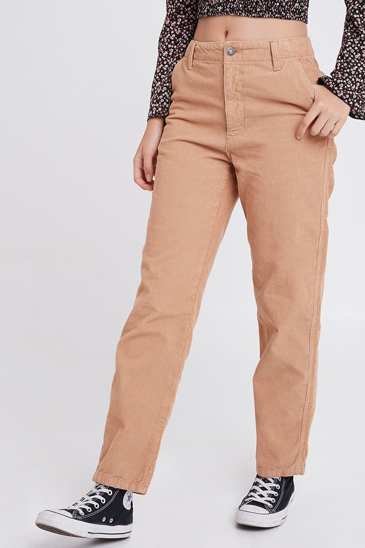 Pantalones terciopelo canalé