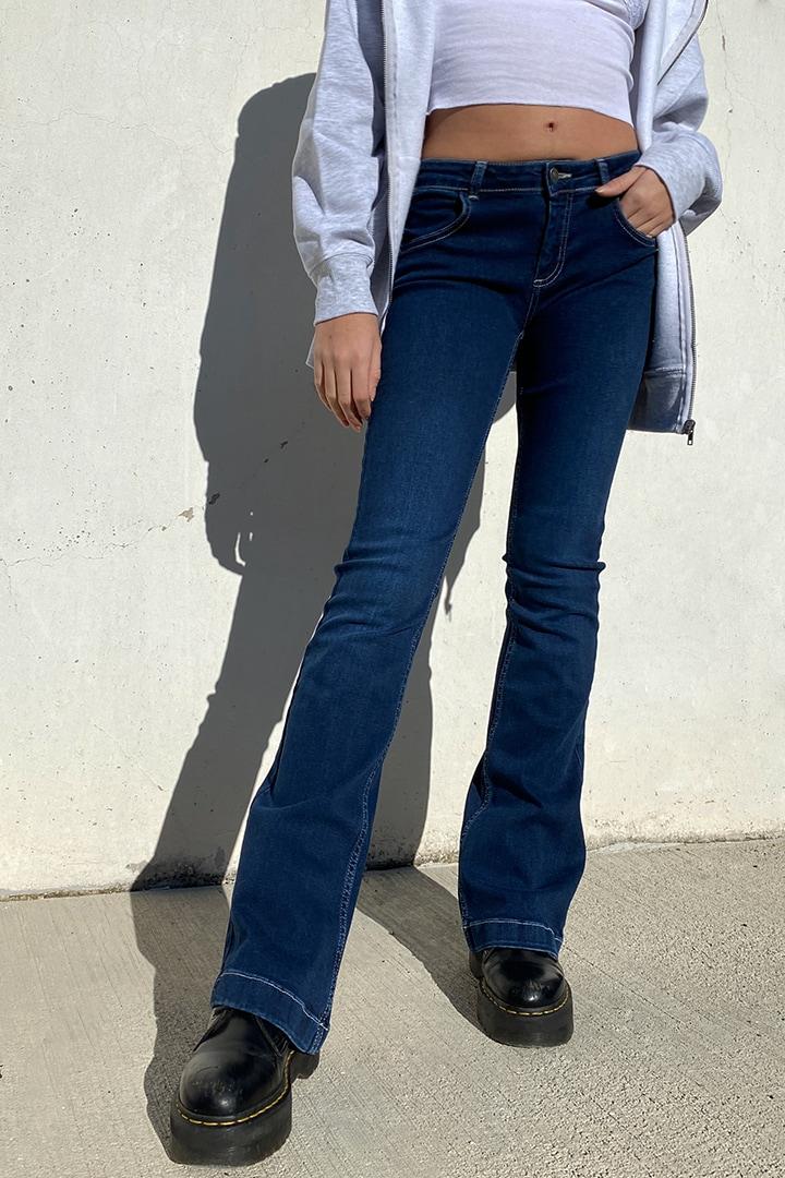 Jeans tiro bajo