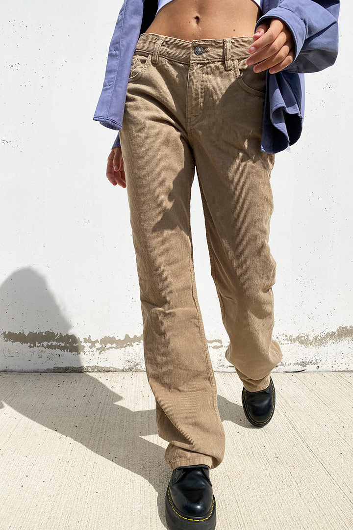 Nachhaltig Low-Waist Hose