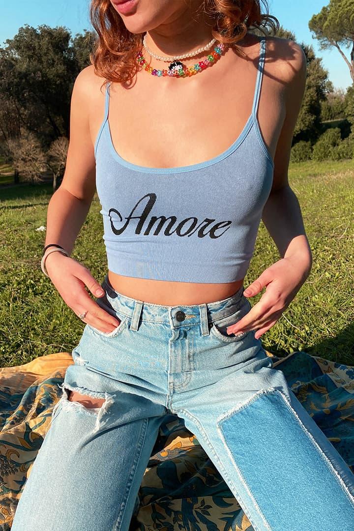 Amore crop top