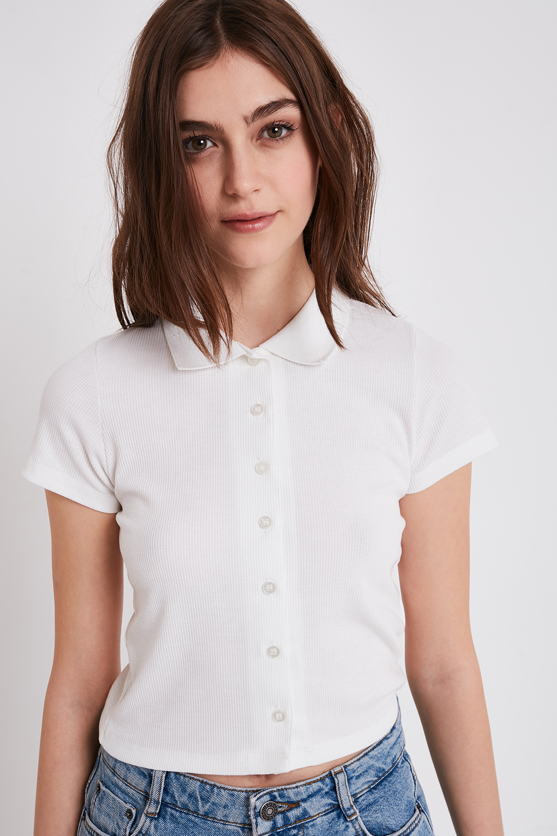 T-shirt colletto