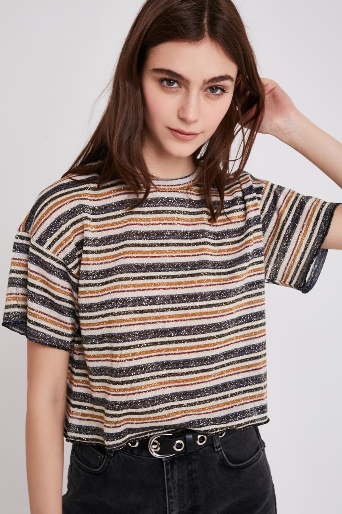 T-shirt lurex