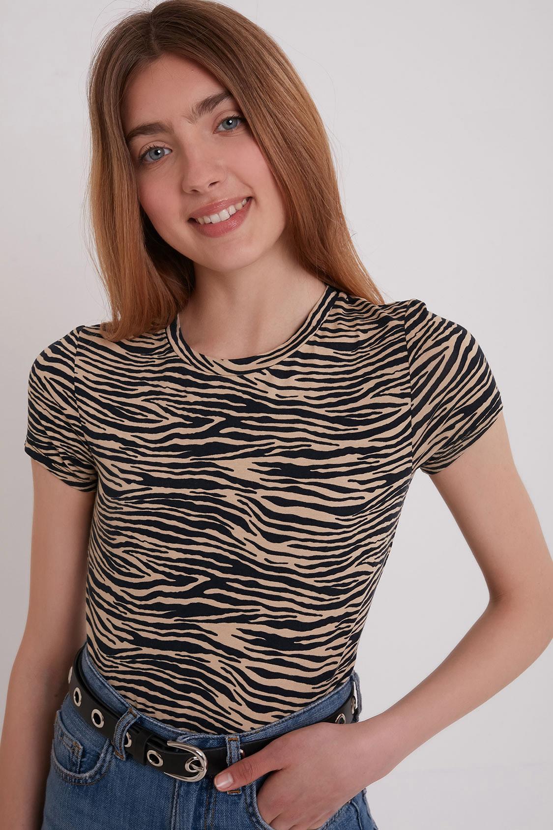 T-shirt zebrata