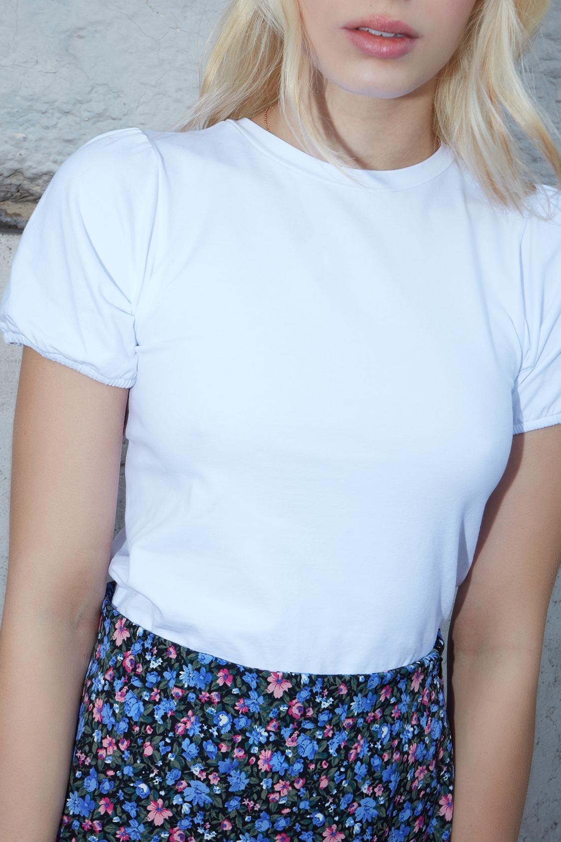 T-Shirt Ballonärmel
